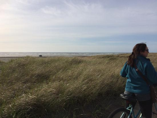 Long Beach, WA: The bike trails that run along the dunes between hotel & water are well-maintained