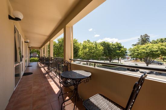 Lugano Motor Lodge: Balcony