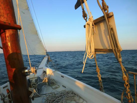 Schooner Windfall II: Sailing Out on the Skipjack Wilma Lee