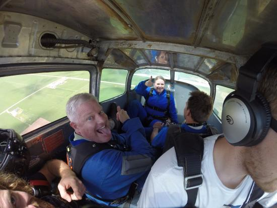 Nephi, Юта: Plane ride up, with my wife, instructors, and our awesome pilot