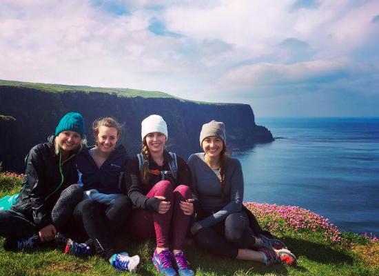 Doolin, Irlanda: Photo opp along the trail