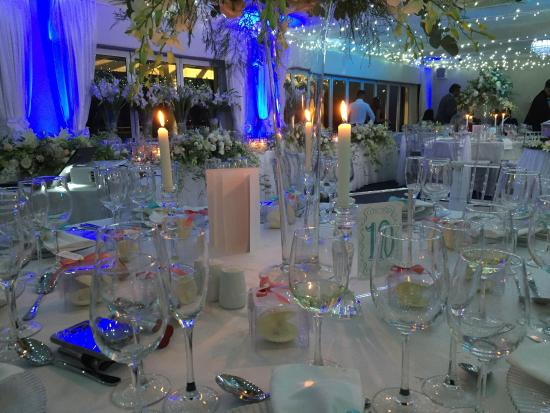 Amazing Wedding Decorations At A Friends Wedding Made Possible By