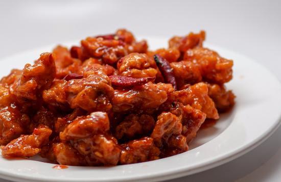 แวนคูเวอร์, วอชิงตัน: General Tso Chicken. Not too spicy, just right.