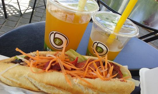 BB.Tea : Sandwich et bubble tea