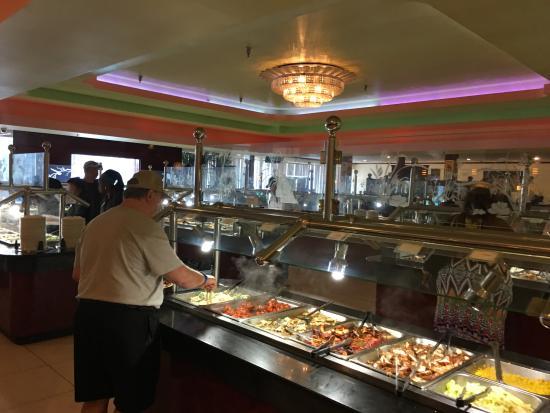 Hibachi Grill and Supreme Buffet: One buffet station