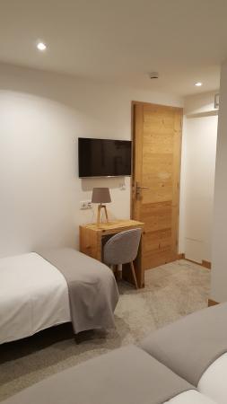 Hotel du Clocher : chambre