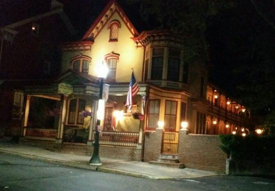 "Kutztown, PA: Evening Picture of the Beautiful ""Main Street Inn"""
