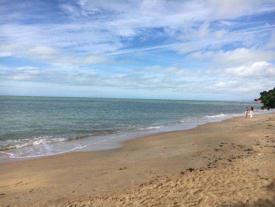Trancoso, BA: A praia