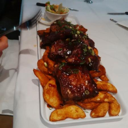 Cecil Hotel: Tthe American Ribs. Ddelicious.