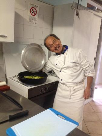 Pinasca, İtalya: Both Fabrizio and Marla are chefs. And, you can book a cooking class during your stay.
