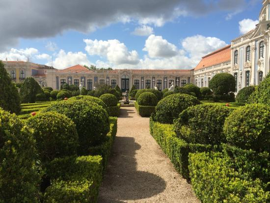 National Palace of Queluz: The Exterior Formal Gardens