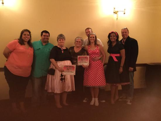 Harvey, Louisiane : Team Vodka solved the murder mystery.