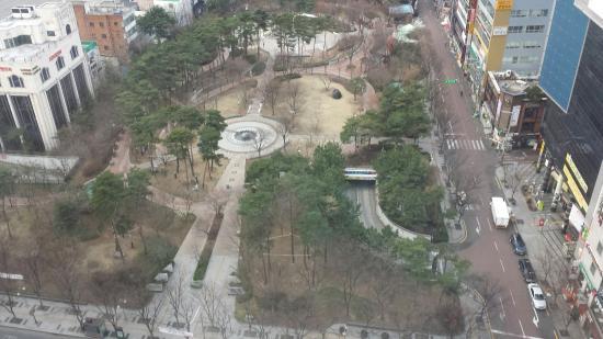 Novotel Ambassador Daegu: Views from room