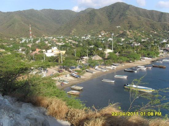 Vista de Taganga.