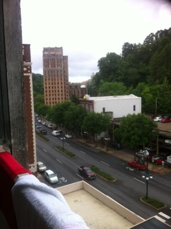 The Springs Hotel & Spa: City view to the left