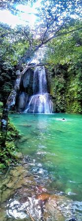 Guinayangan, Filipiny: Gapas Falls