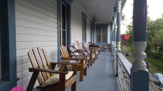 back porch picture of breezy bay farm bed and breakfast saturna rh tripadvisor com
