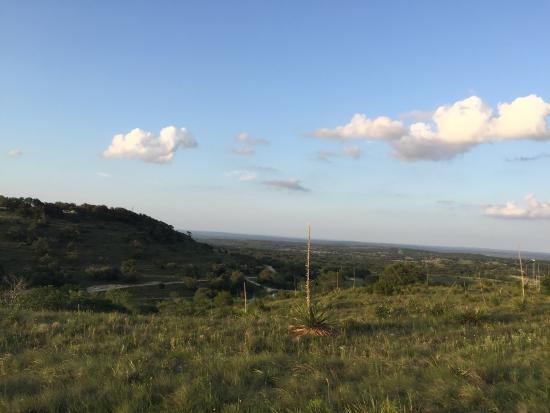 Johnson City, Teksas: Fantastic hill country vistas!