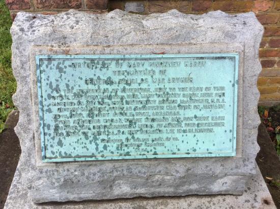 Mary Pinkney Hardy MacArthur Memorial