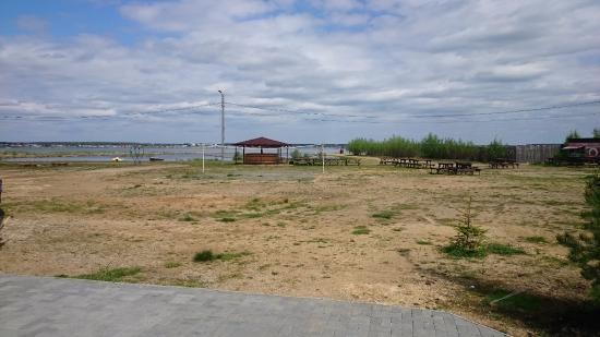 Sosnovskiy District, روسيا: Вид на пляж