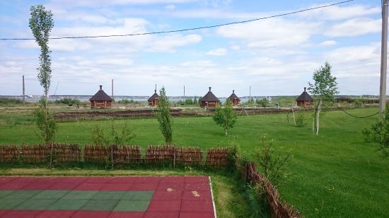 Sosnovskiy District, روسيا: Лужайка