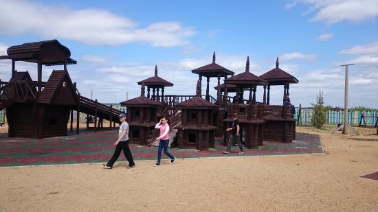 Sosnovskiy District, روسيا: Детский городок