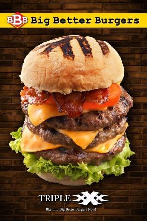 Big Better Burgers : Triple XXX