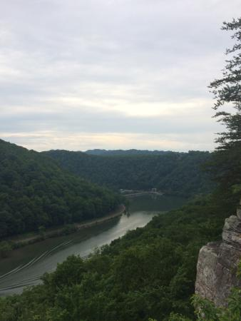 Ansted, Virginia Occidental: Great Views from Hawks Nest!