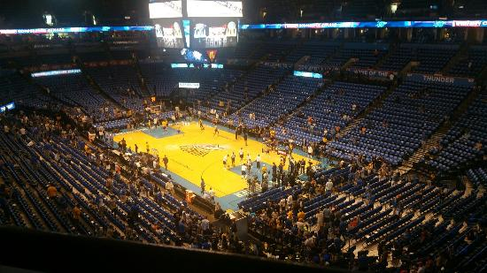 Chesapeake Energy Arena: 20160528_185033_large.jpg