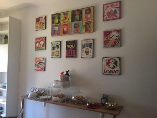 I colori della cucina - Foto di Maison Talenti B&B Roma, Roma ...