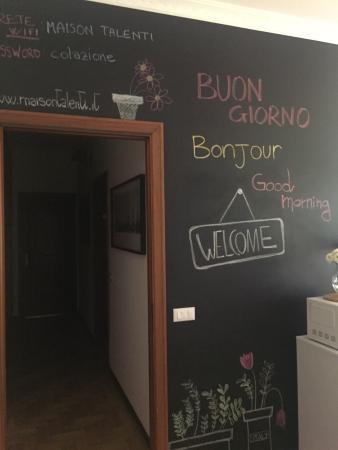 I colori della cucina - Picture of Maison Talenti B&B Roma ...