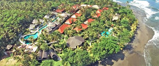 Puri Dajuma Cottages: Aerial View