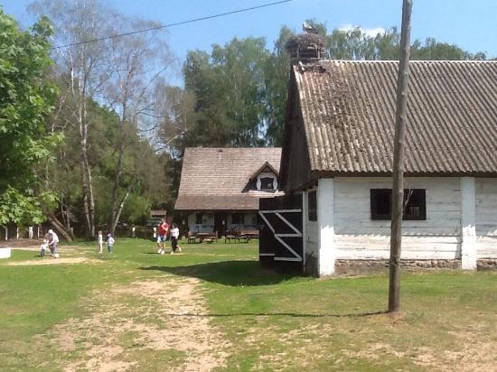 Tykocin, Πολωνία: Europejska Wies Bociania – Dwor Pentowo