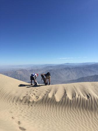 Mystery Peru: Sand Boarding Cerro Blanco