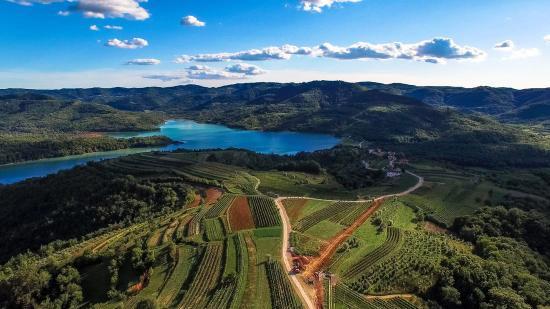Buzet, Croácia: Karlic tartufi panorama