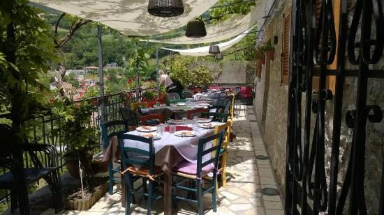 Sant'Anatolia di Narco, إيطاليا: Terrazza