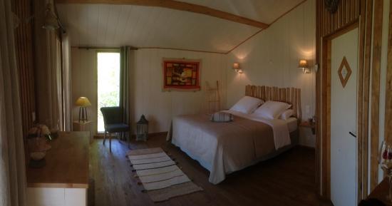 Mauzac-et-Grand-Castang, França: La chambre de la cabane