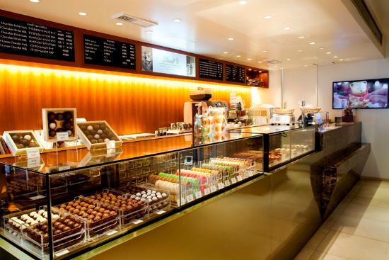 Lindt Chocolat Cafe Jiyugaoka
