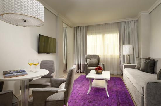 Ponte Vecchio Suites & SPA: Suite Executive Living room