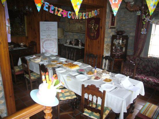 CASA DE CACHEIRO: Celebración Familiar