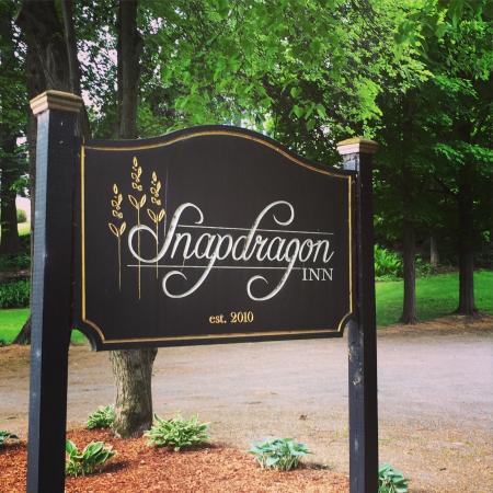 Windsor, VT: Love the Snapdragon Inn!!