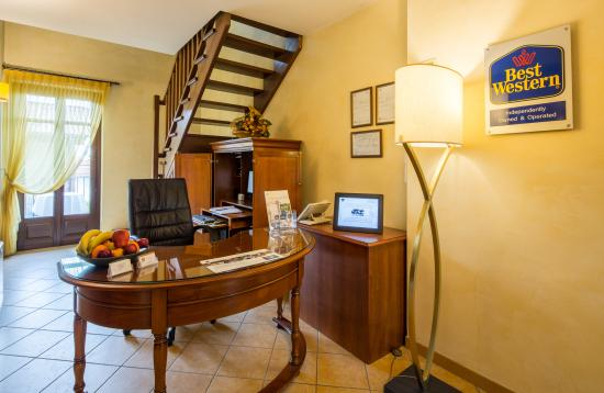 Best Western Plus Hotel Le Rondini: Reception