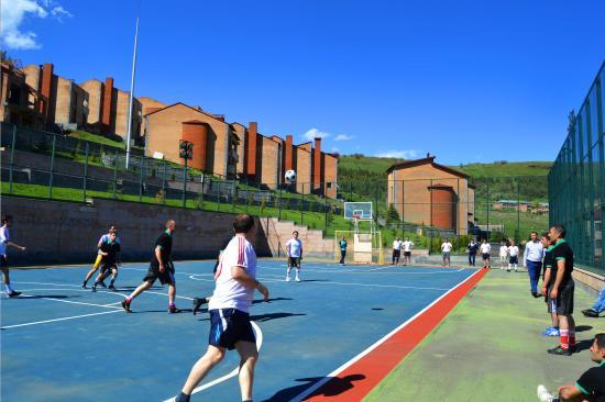 Tsakhkadzor, Armenië: Football court