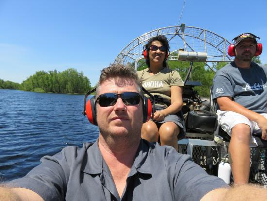 Mequet Swamp Tours: in the Atchafalya swamp