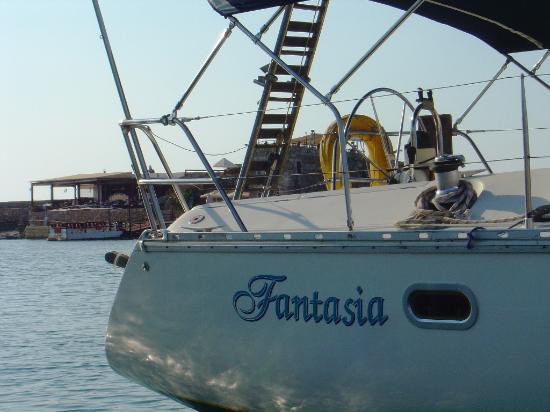 Sailing In Crete - Fantasia Sailing Boat