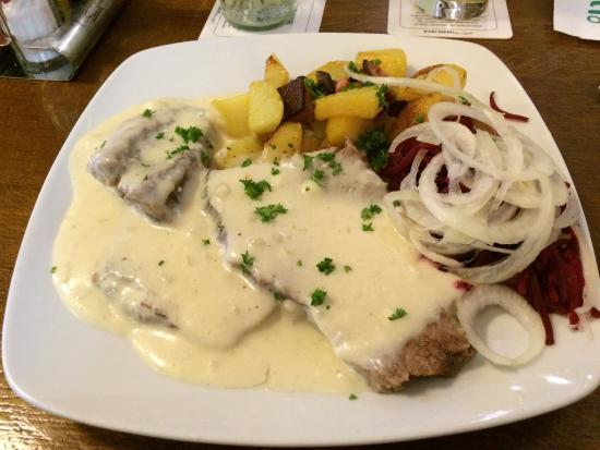 Diskonto Schenke: Tafelspitz mit Meerrettich-Sauce