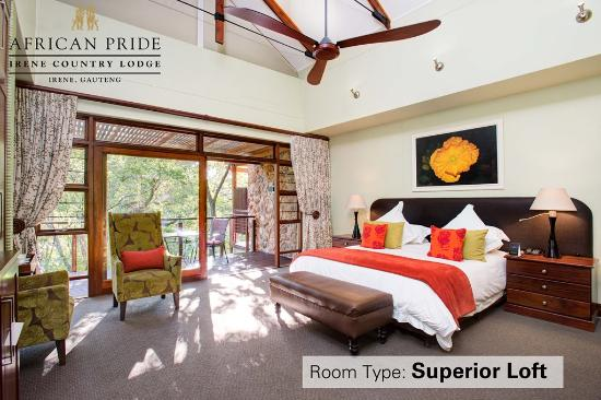 African Pride Irene Country Lodge: Superior Loft room