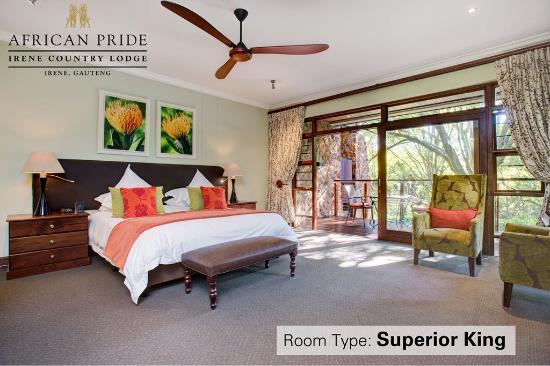 African Pride Irene Country Lodge: Superior King Room