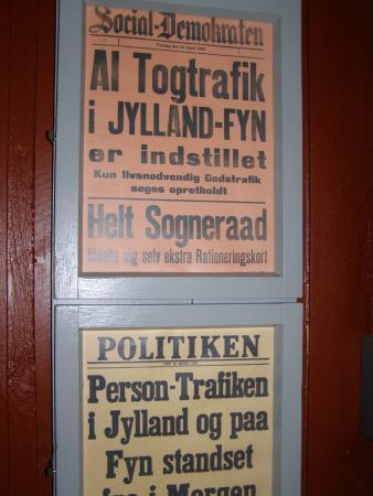 Danmarks Jernbanemuseum: Togene kørte ikke.