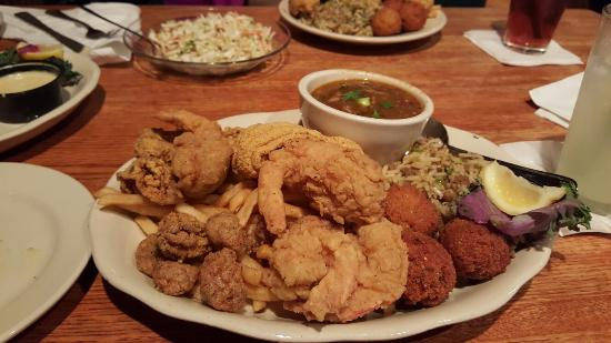 Parrain S Seafood Restaurant Fish Platter The Whole Shebang